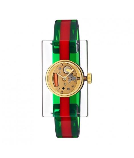 Orologio plexiglass Gucci...