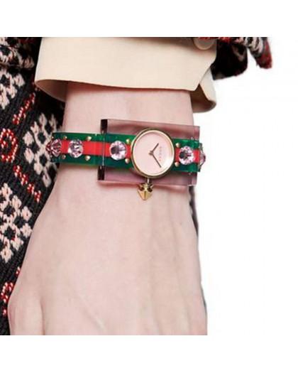 Orologio Plexiglass da donna Gucci YA143525