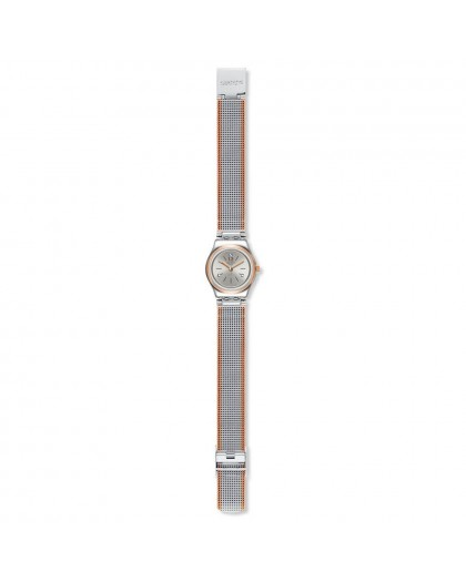Orologio donna solo tempo Swatch Full Silver Jacket YSS327M