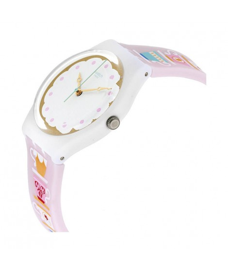 Orologio Swatch quarzo donna High Tea GW191