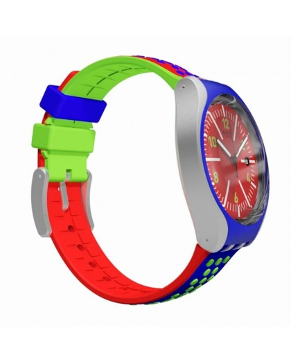 Orologio uomo solo tempo Swatch Vermelho YES4016