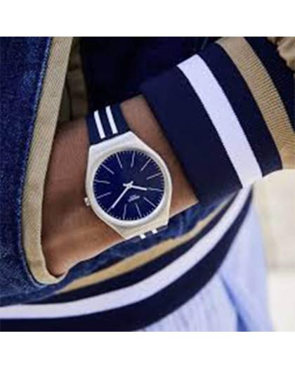 Orologio uomo solo tempo Swatch Skinblueiron SYXS106