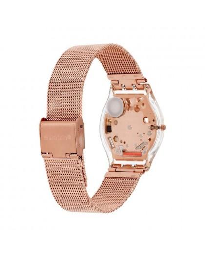 Orologio donna Swatch oro rosa Hello Darling SFP115M