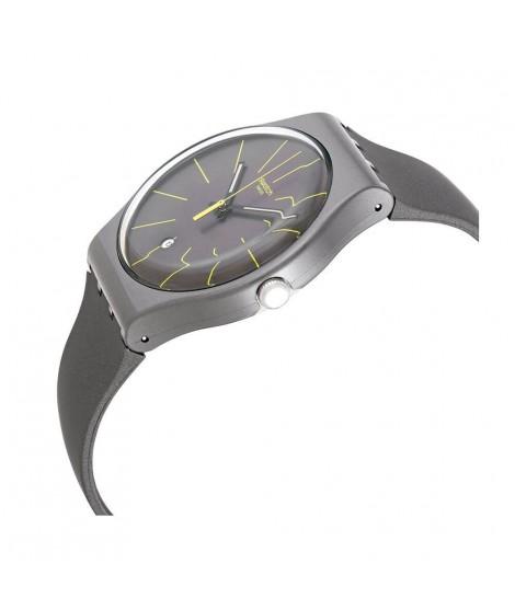 Orologio Swatch uomo solo tempo Charcolazing SUOB404