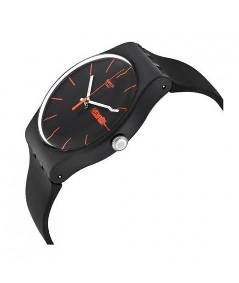 Orologio Swatch uomo solo tempo Dark Rebel SUOB704