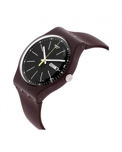 Orologio Swatch uomo Blue Browny SUOC704