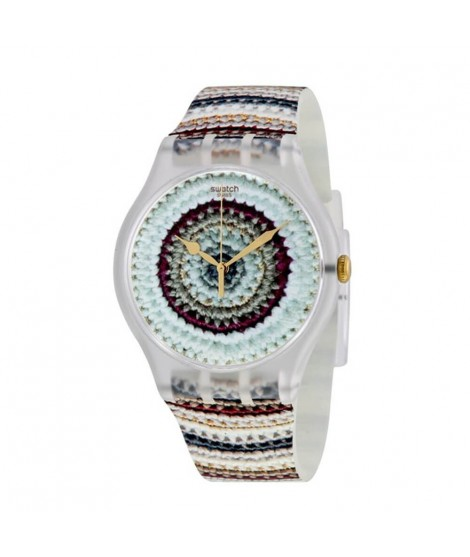 Orologio Swatch donna Tricotime SUOK114