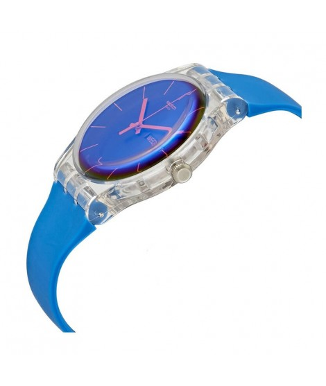 Orologio Swatch solo tempo unisex Polablue SUOK711