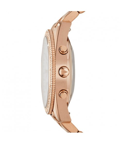 Hybrid Smartwatch Fossil donna Scarlette oro rosa FTW5016