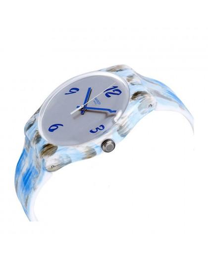Orologio donna Swatch Bluquarelle SUOW149