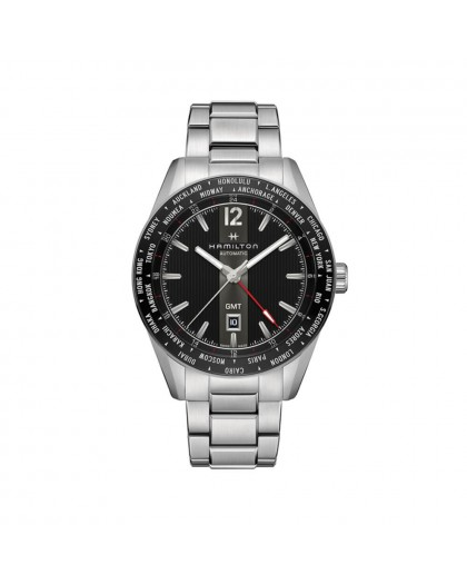 Orologio Hamilton Broadway Gmt Edition H43725131