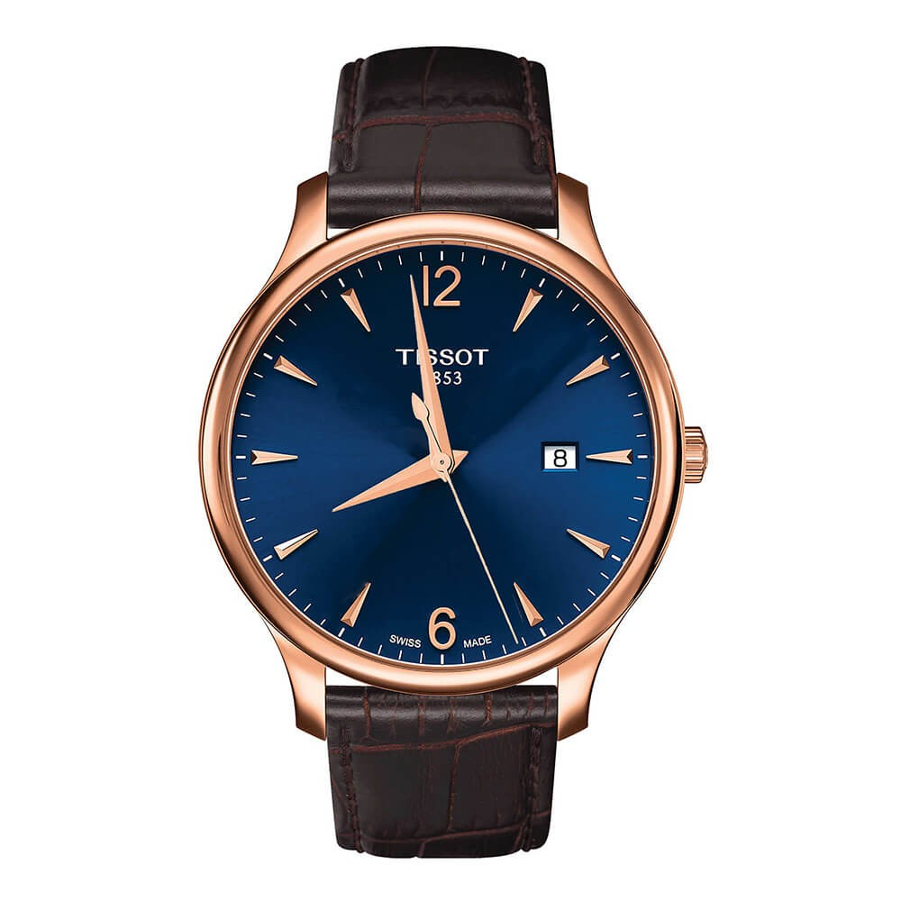 Orologio uomo solo tempo Tissot Tradition T0636103604700