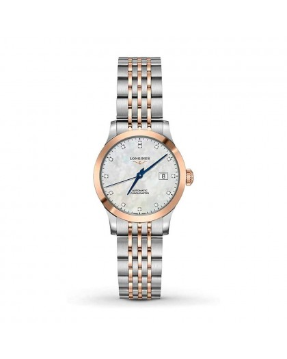Orologio Longines Donna Record madreperla L23215877