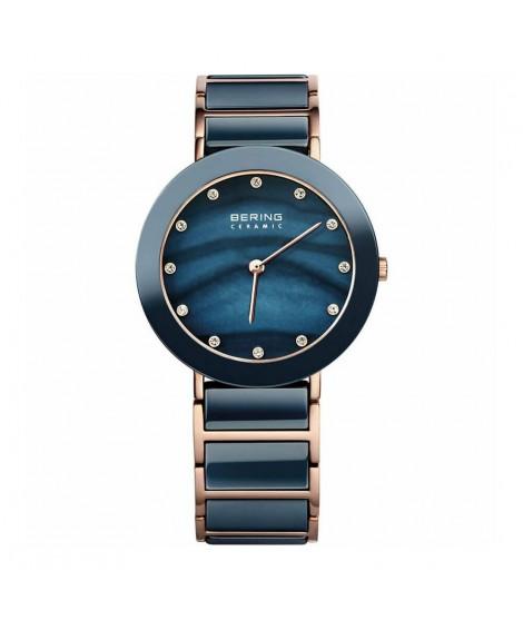 Bering Orologio donna solo tempo madreperla blu 11435-767