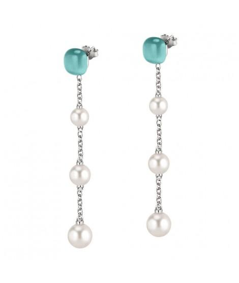 Morellato Orecchini da donna in argento con perle SATC05