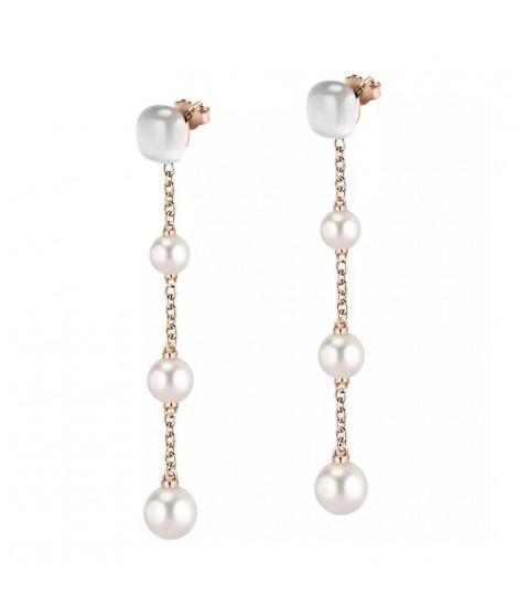Morellato Orecchini da donna in argento con perla SATC04