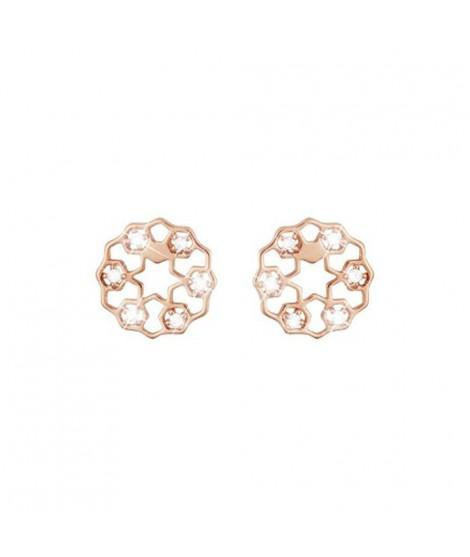 Stroili orecchini in ottone rosato e zirconi 1656875