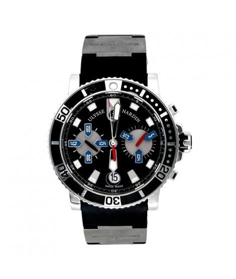 Cronografo automatico con rotore in oro - Ulysse Nardin 8003-102-392