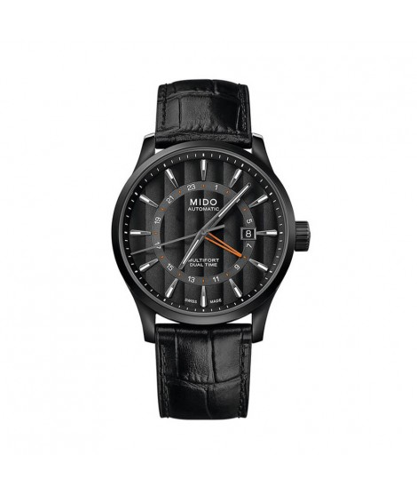 Mido Multifort Dual Time...
