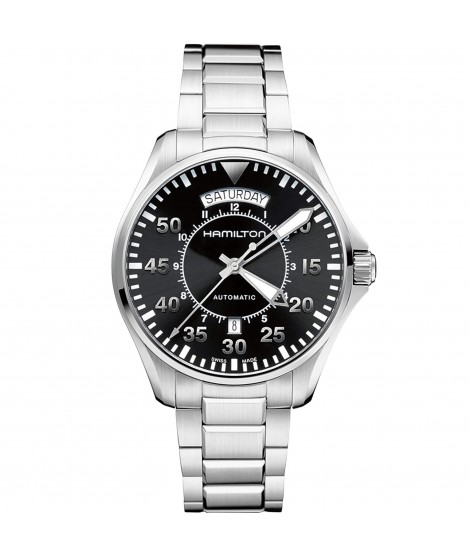 Orologio Hamilton Khaki Aviation Pilot Day Date Auto H64615135