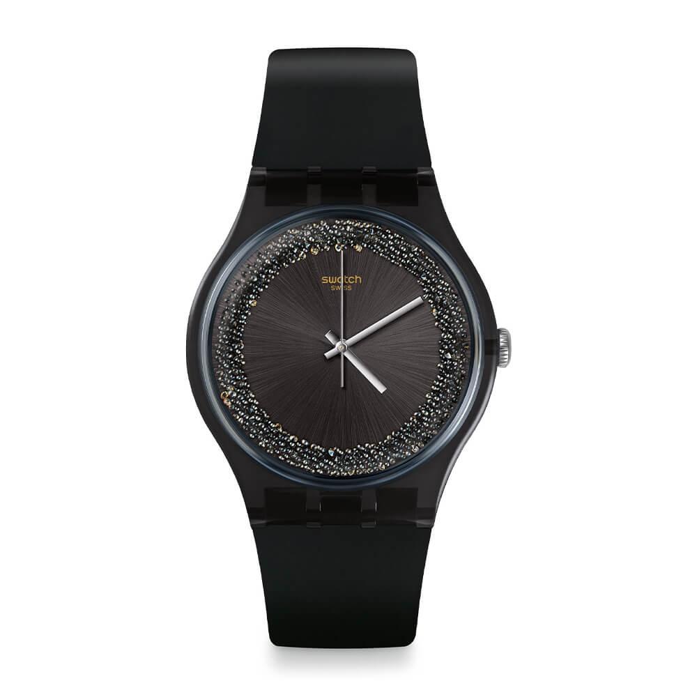 Orologio Swatch donna Darksparkles SUOB156