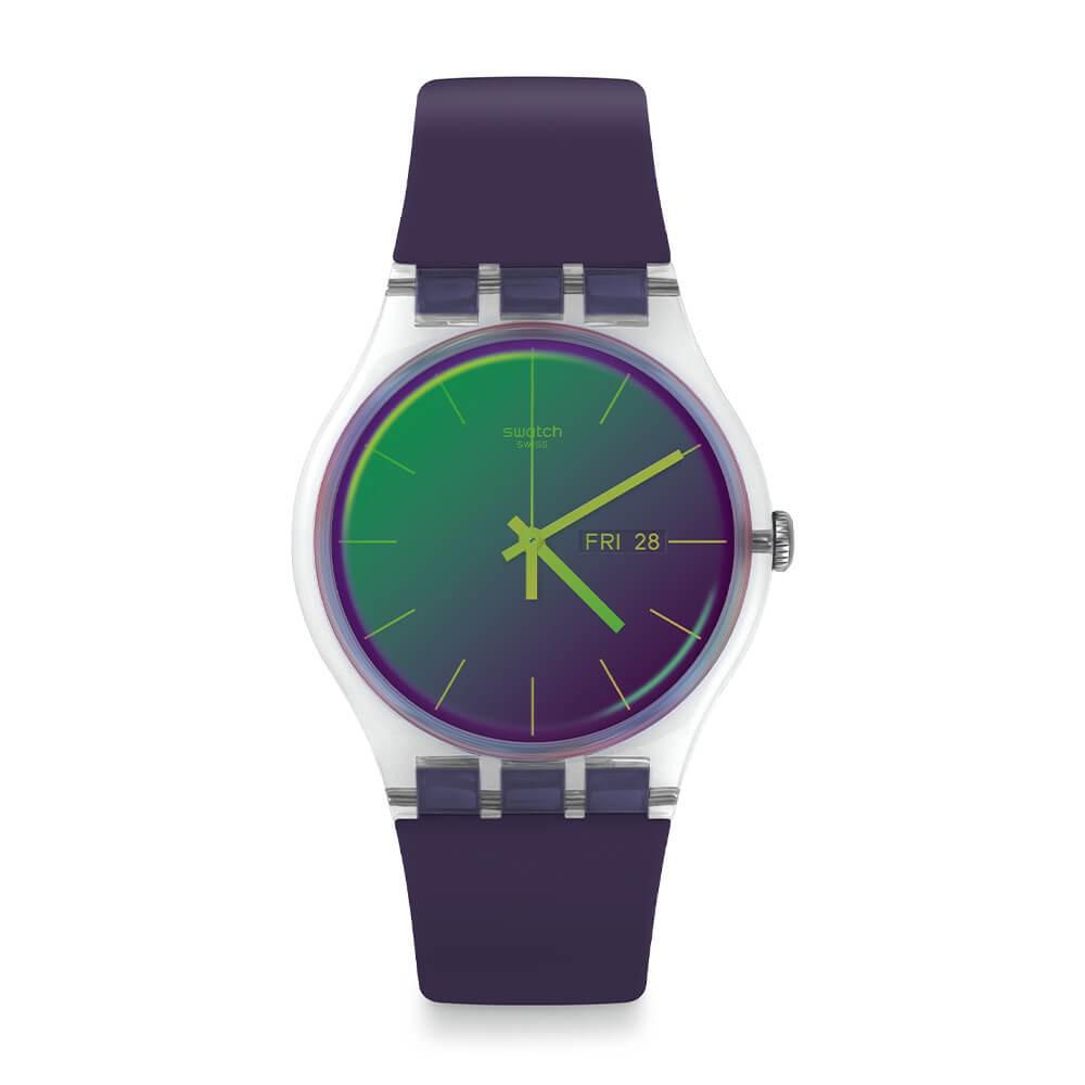 Orologio Swatch donna Polapurple SUOK712
