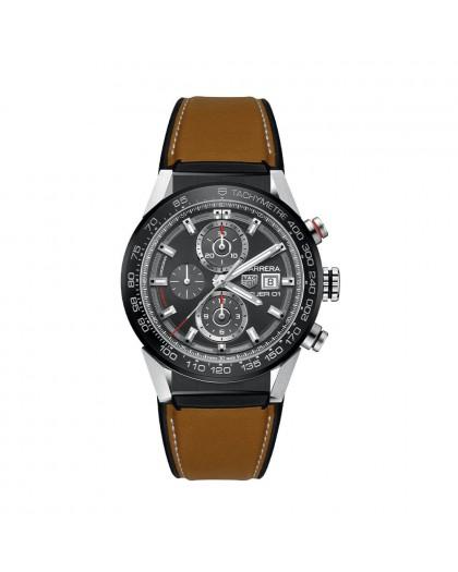 Cronografo automatico uomo Tag Heuer CAR201W.FT6122