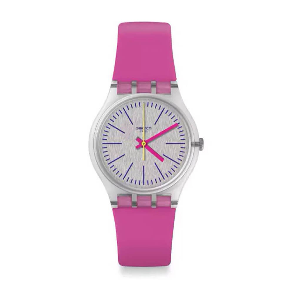 Orologio donna Swatch Fluo Pinky GE256