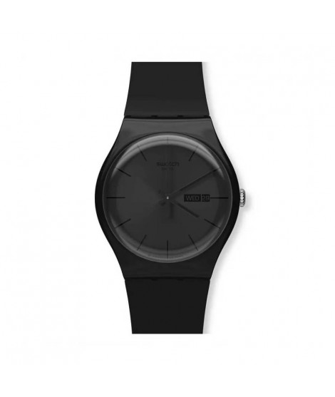Orologio Swatch unisex Black Rebel SUOB702