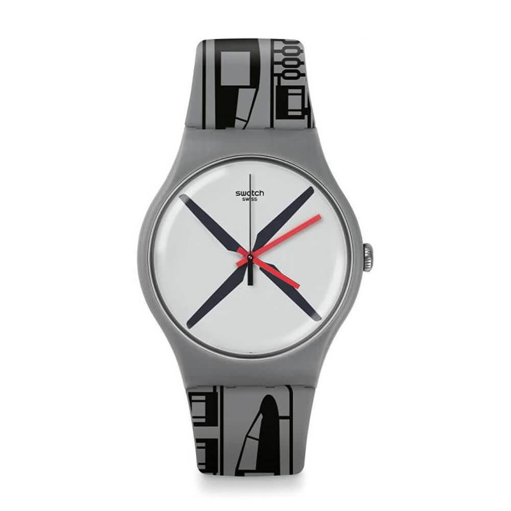 Orologio Swatch uomo Helikit SUOM107