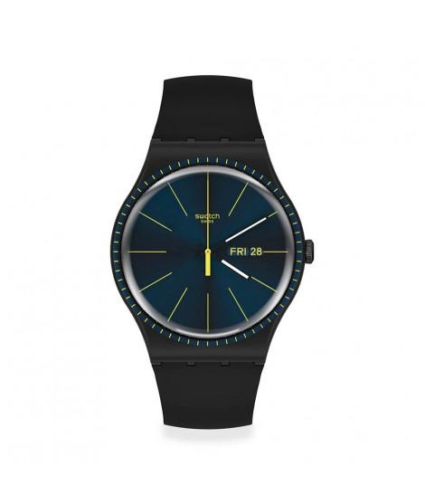 Orologio Swatch Black Rails SUOB731