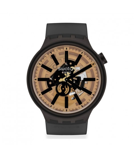 Orologio Swatch Big Bold Dark Taste SO27B115