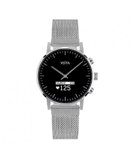 Watch Viita Hybrid HRV Classic 40mm - Silver