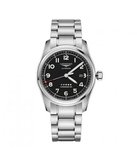 Longines orologio automatico Spirit nero 42mm L38114536