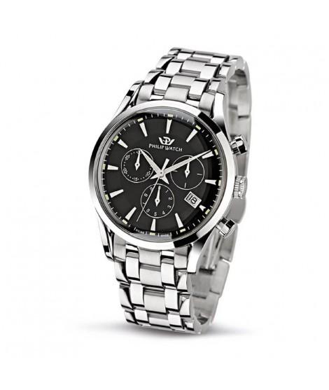 Cronografo 39mm al quarzo Philip Watch R8273908165